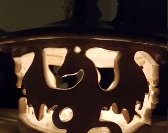 Ceramic Dragon Lantern