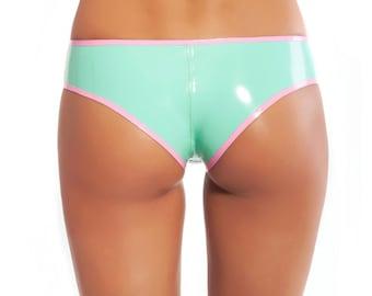 Latex pantie sexy