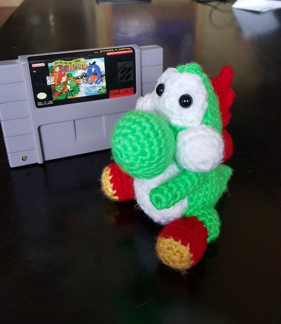 Crochet yoshi soft plush amigurumi for Yoshi plush template
