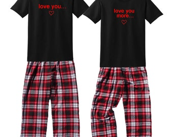 His And Her Pajamas Christmas Breeze Clothing