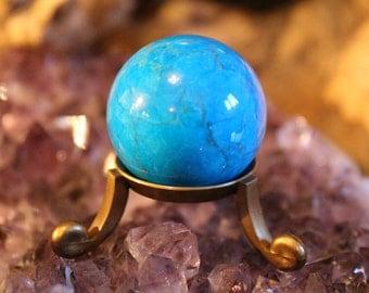 Blue Howlite Crystal Sphere