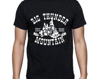 Disney Shirts Big Thunder Mountain Ride Shirt Disneyland Shirt Disney World Shirt Big Thunder Mountain Shirt