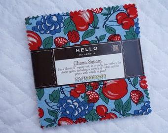 Sweet Pickins - Charm Pack - 40 pieces - By Darlene Zimmerman - Robert Kaufman fabric