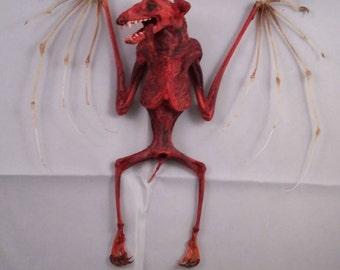 Taxidermy blood bat