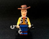 SALE: Custom Woody Toy Story Mini Figurine, Lego mini figurines, Toy Story minifigure, Gift for all, Toys, Collectibles