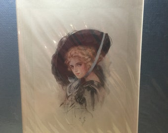 Harrison Fisher limited Edition matted print