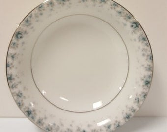 Vintage China - 7 3/8\  Coupe Soup Bowl in Kathleen #6722 by & Items similar to Pair (2) Arcoroc Aspen 8-3/8\