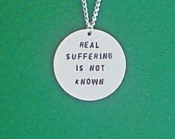 necklace- creepypasta necklace- real suffering is not known- creepypasta
