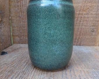 Emerald Teal Handmade Ceramic Tumbler - Stoneware
