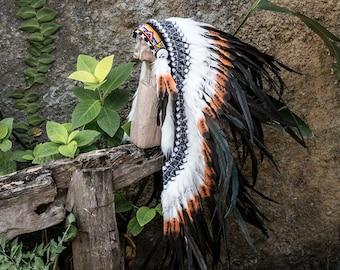 Native American Headdress / Indian Headdress / War Bonnet / Indian Costume / Native American Costume