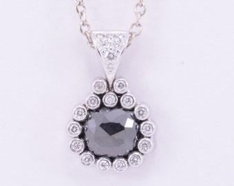M1609 Black Diamond Pendant