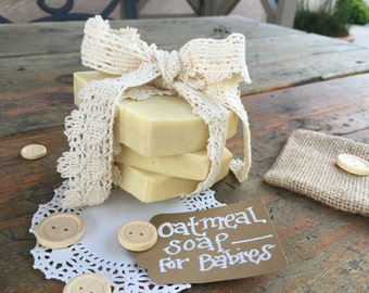 Oatmeal Soap for Babies