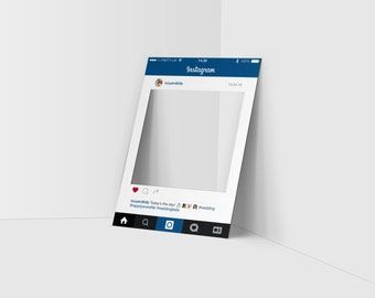 Personalised Instagram-style Party frame