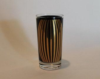 Mid Century Modern Glass Tumbler