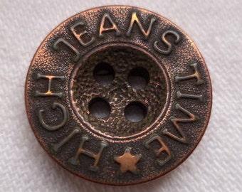 10 buttons copper 18mm (937) button
