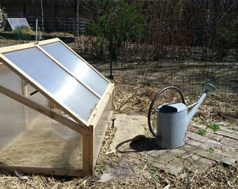 Cold Frame or Mini-Greenhouse w\ automatic opener