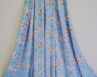 90's Laura Ashley Floral Skirt