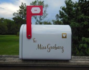 Teacher Mailbox; Classroom Mailbox; Personalized Classroom Decor; Personal Mailbox