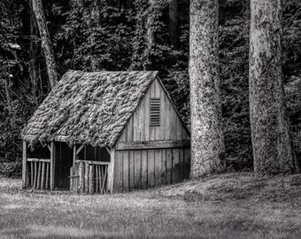 Fine Art Photography, Black and White Photography, Landscape Photography, Cutalossa Farm, Pennsylvania, Wall Art
