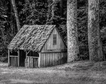 Barn Photography, Black and White Photography, Landscape Photography, Cutalossa Farm, Pennsylvania, Wall Art, barn, Bucks County farm