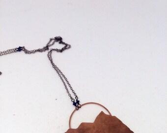 Copper Mountain Pendant Necklace