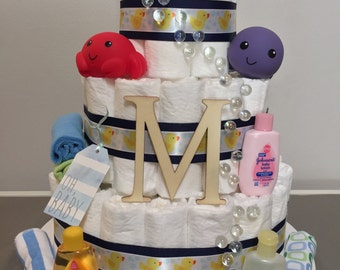 Baby Bubble Diaper Cake