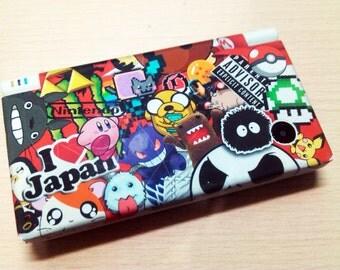 Nintendo DSi JDM Custom Collage custom vinyl