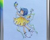 "LanSvit CROSS-STITCH KIT ""In a Spring Mood"" (D-049)"