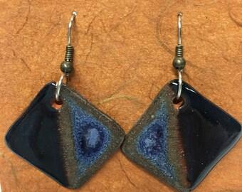 Jewelry Ceramic,Handmade Earrings,Designer Jewelry, Artisan, Unusual Earrings