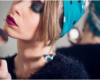 Earrings - Tokyo my love - blue