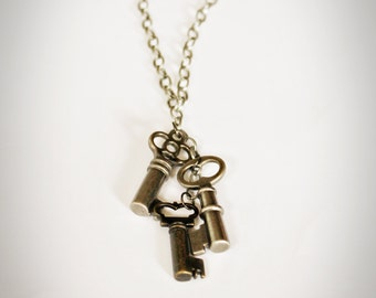 3-Key Necklace
