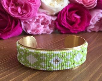 LEXIE Miyuki beads Cuff Bracelet