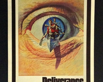 "Deliverance Movie Poster 12""x18"" Reproduction"