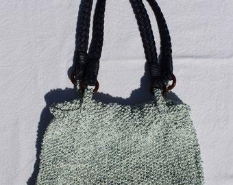 "precious knitted bag ""Blue Elegance"""