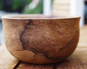 Little Miss Sassafras, a handturned wooden bowl in blackheart sassafras