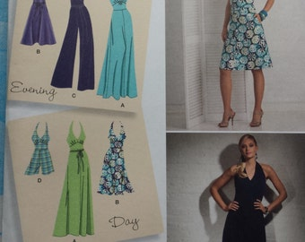 Simplicity 2401 Dress and Jumpsuit Sewing Pattern 14-22
