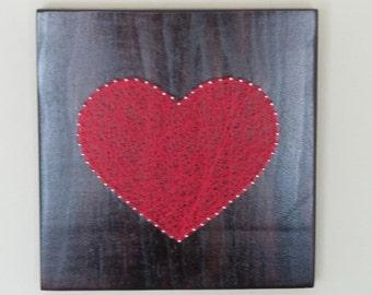 Heart. String Art.