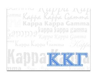Kappa Kappa Gamma Sticky Notes