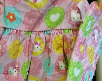 Girls hello kitty apron