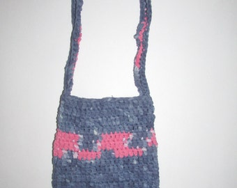 Hand Dyed Jersey Purse