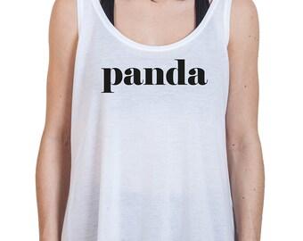 Women top casual Panda