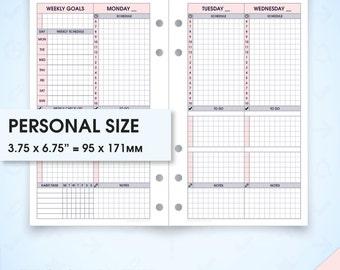 hourly schedule planner