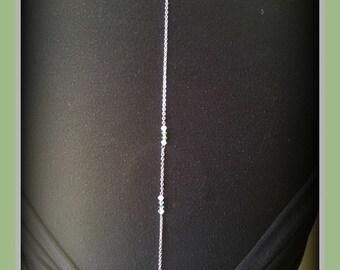 String back / back gem / flower to embellish your stainless steel back