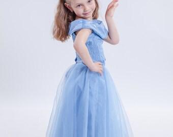 Toddler maxi dress white