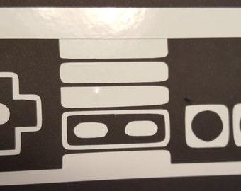 Nintendo Controller Vinyl Decal