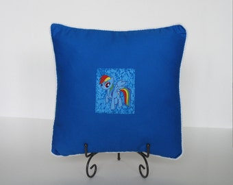 Rainbow Dash Pillow with Pocket - My Little Pony