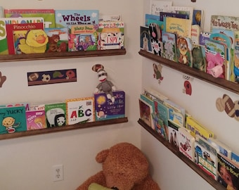 Picture Shelf, Kids Book Shelf, Book Shelf, Floating Picture Shelf, Floating Shelf