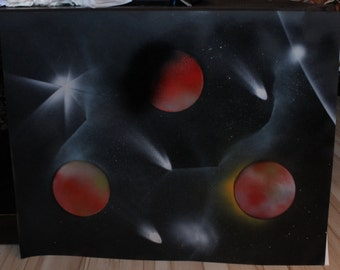 Spray Paint Art: Universe