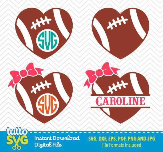 football heart clipart - photo #19