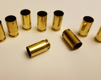 9mm Luger 1000 tumbled and polished brass casings